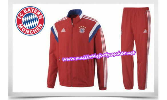 maillots-fr: Survetement de foot BAYERN MUNICH 2014/2015