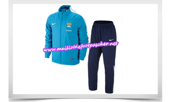 maillots-fr: Survetement de foot MANCHESTER CITY 2014/2015