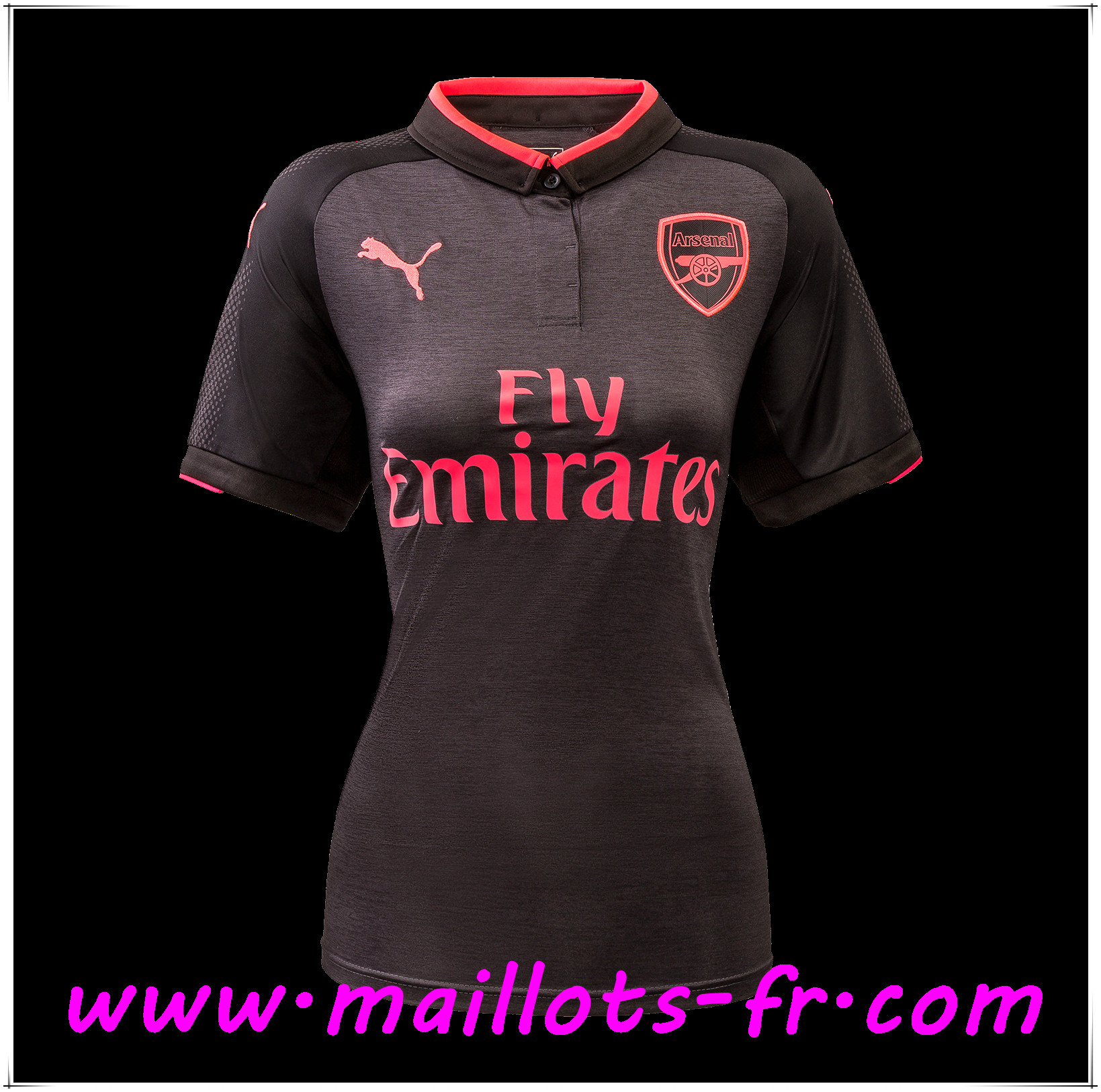 maillots-fr Maillot de Foot Arsenal Femme Third 2017 2018