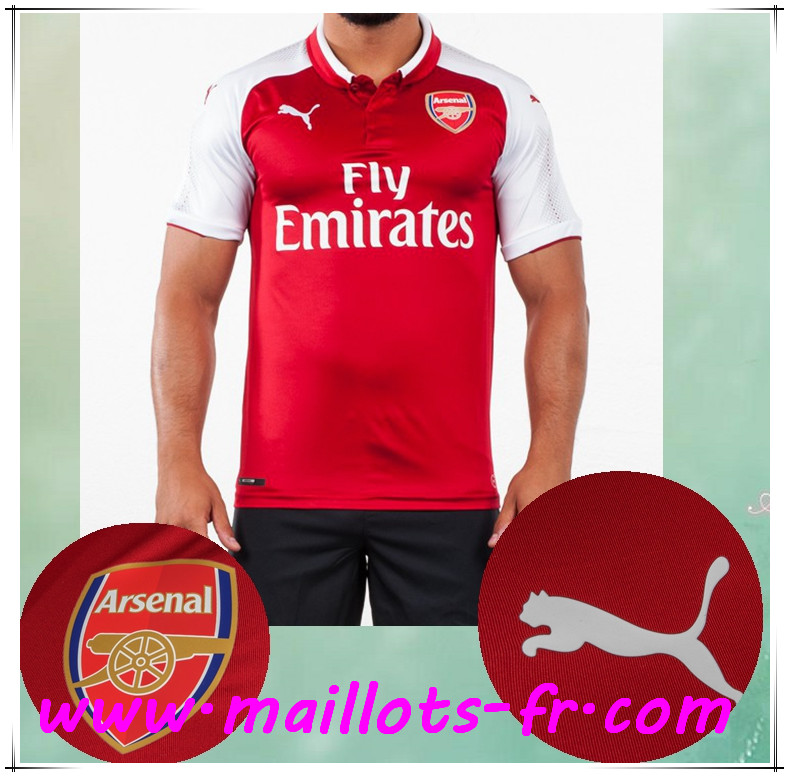 maillots-fr Maillot de Foot Arsenal Domicile 2017/2018