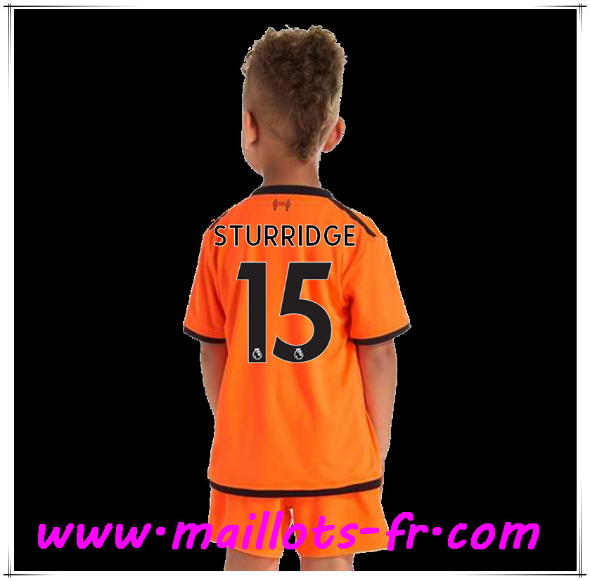 maillots-fr Maillot de Foot Liverpool (STURRIDGE 15) Enfant Third 2017 2018