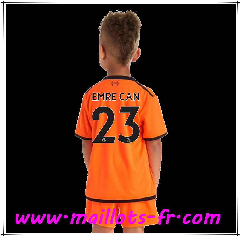 maillots-fr Maillot de Foot Liverpool (EMRE CAN 23) Enfant Third 2017 2018