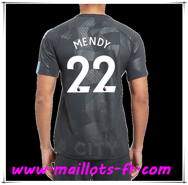 maillots-fr Maillot de Foot Manchester City (MENDY 22) Third 2017 2018