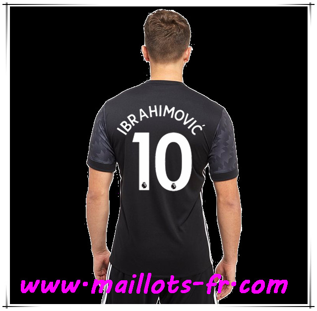 maillots-fr Maillot de Foot Manchester United (IBRAHIMOVIC 10) Exterieur 2017 2018