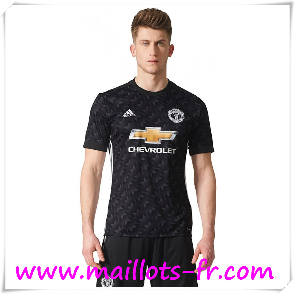 maillots-fr Maillot de Foot Manchester United Exterieur 2017 2018