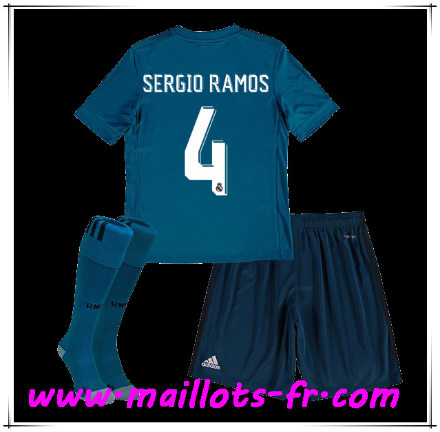 Maillot THIRD Real Madrid Sergio Ramos