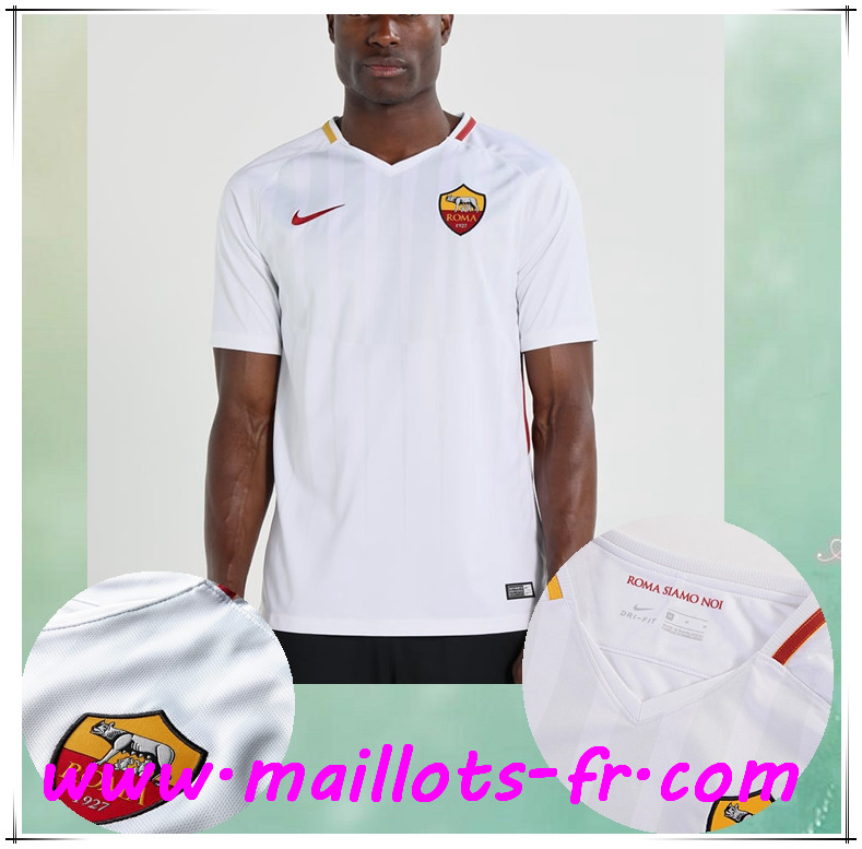 maillots-fr Maillot de Foot AS Roma Exterieur 2017/2018