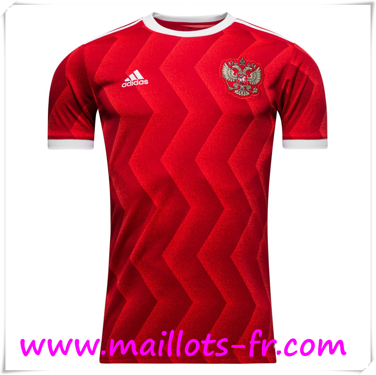 maillots-fr Maillot Equipe De Russie 2017 2018 Domicile