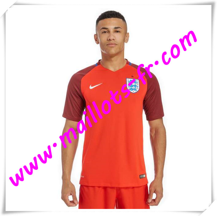 maillots-fr Maillots Equipe De Angleterre 2016 2017 Exterieur