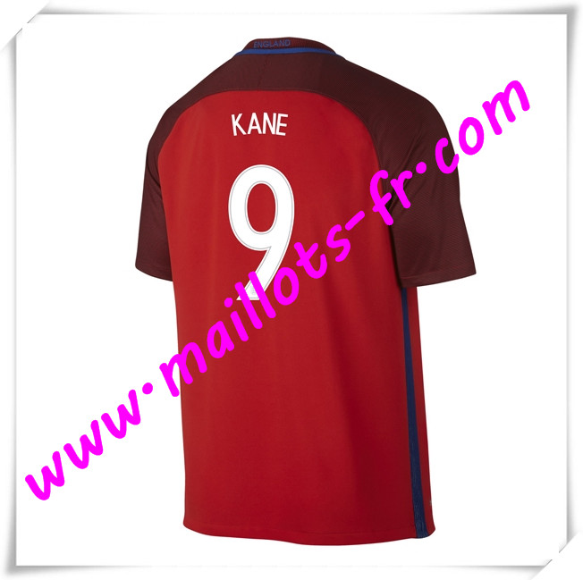 maillots-fr Maillots Equipe De Angleterre (KANE 9) 2016 2017 Exterieur