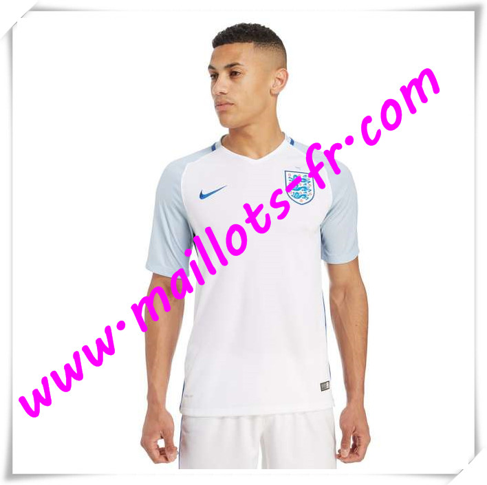 maillots-fr Maillots Equipe De Angleterre 2016 2017 Domicile