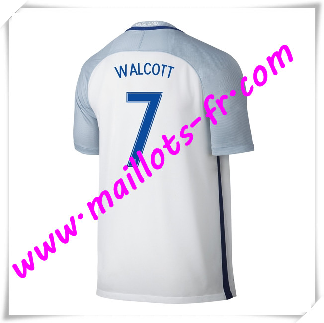 maillots-fr Maillots Equipe De Angleterre (WALCOTT 7) 2016 2017 Domicile