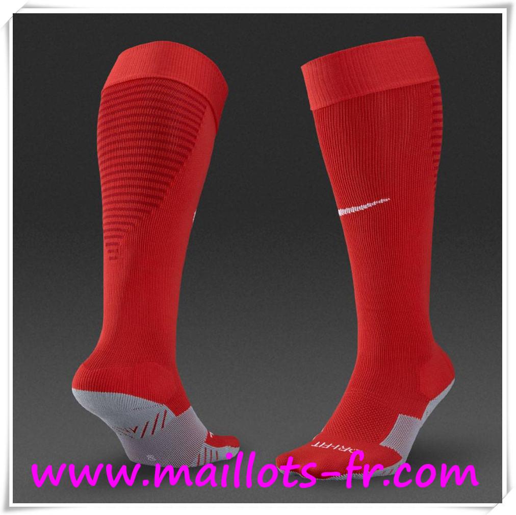 Nouveau Chaussettes De Foot AS Monaco Rouge 2016 2017 Domicile