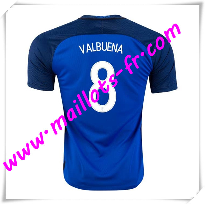 maillots-fr Maillots Equipe De France (VALBUENA 8) 2016 2017 Domicile