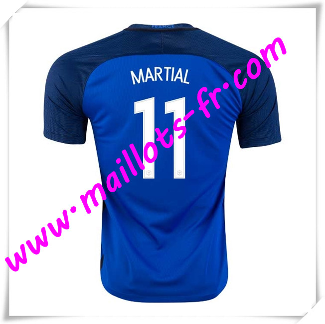 maillots-fr Maillots Equipe De France (MARTIAL 11) 2016 2017 Domicile