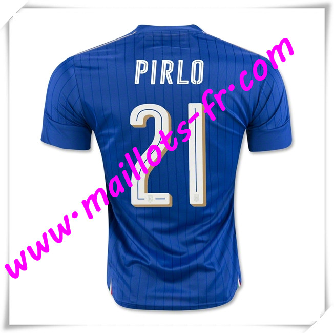 maillots-fr Maillot Foot Euro 2016 Italie (PIRLO 21) Domicile