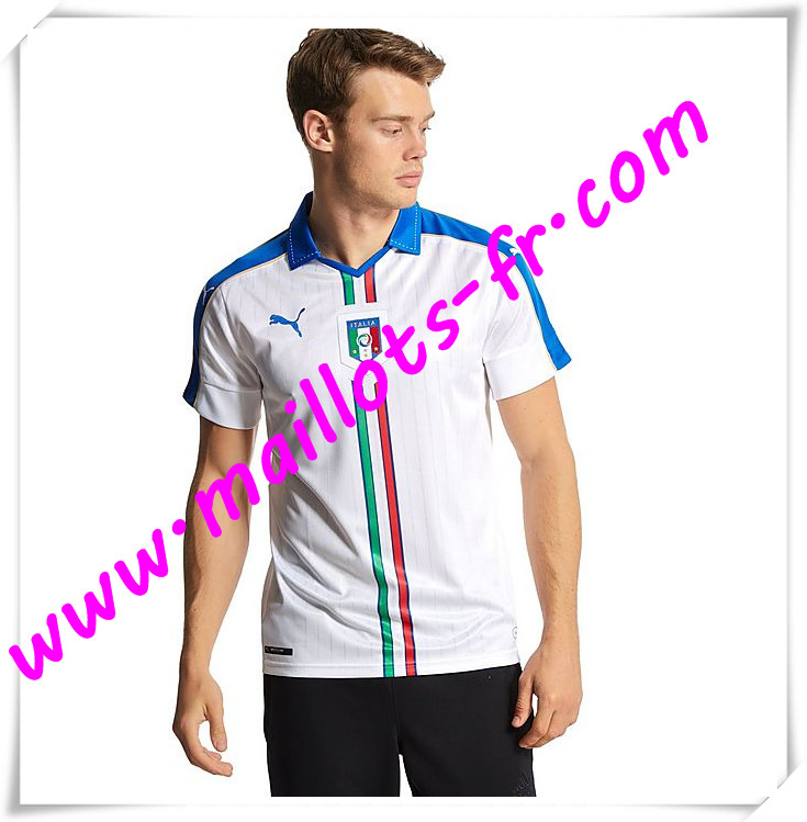 maillots-fr Maillot Foot Euro 2016 Italie Exterieur