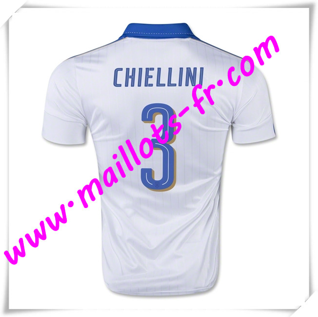 maillots-fr Maillot Foot Euro 2016 Italie (CHIELLINI 3) Exterieur