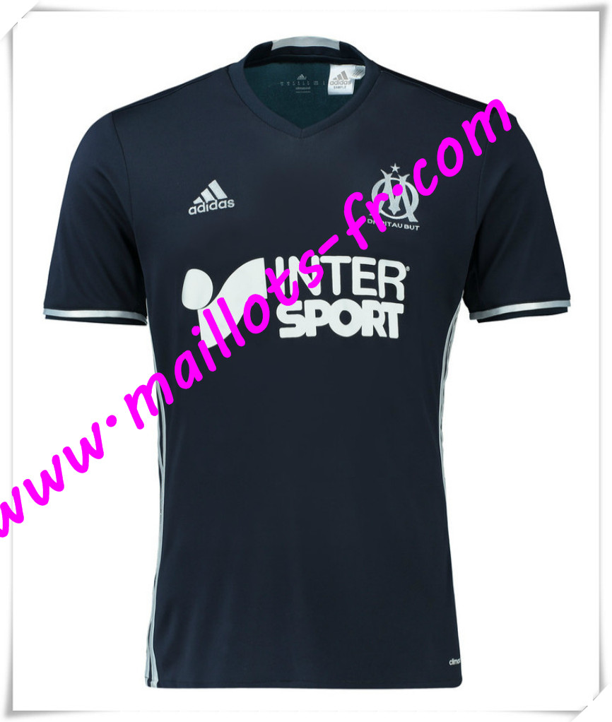maillots fr maillot de foot marseille 2016 2017 pas cher. Black Bedroom Furniture Sets. Home Design Ideas