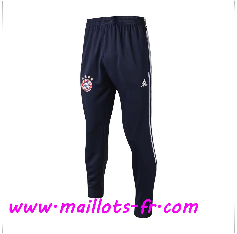 site Maillots fr Training Pantalon Foot Bayern Munich Bleu