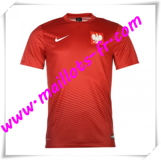 maillots-fr Maillot Foot Euro 2016 Pologne Exterieur