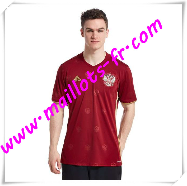 maillots-fr Maillot Equipe de Russie 2016 2017 Domicile