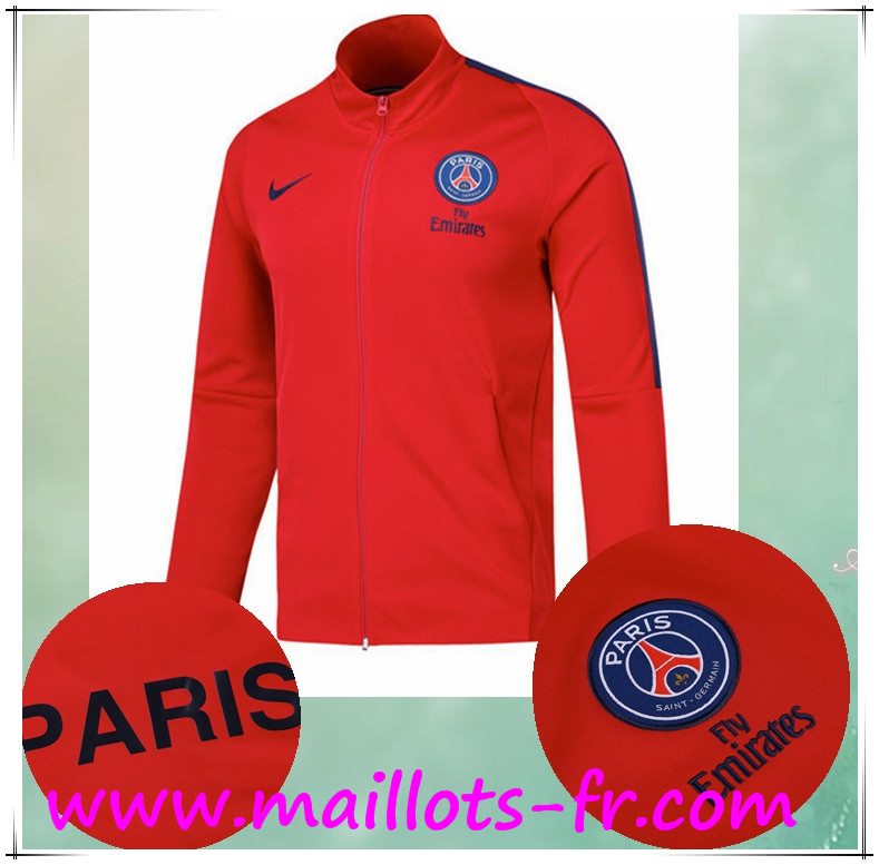 Psg Foot Site 18 Football 17 Veste Rouge 5qqEr