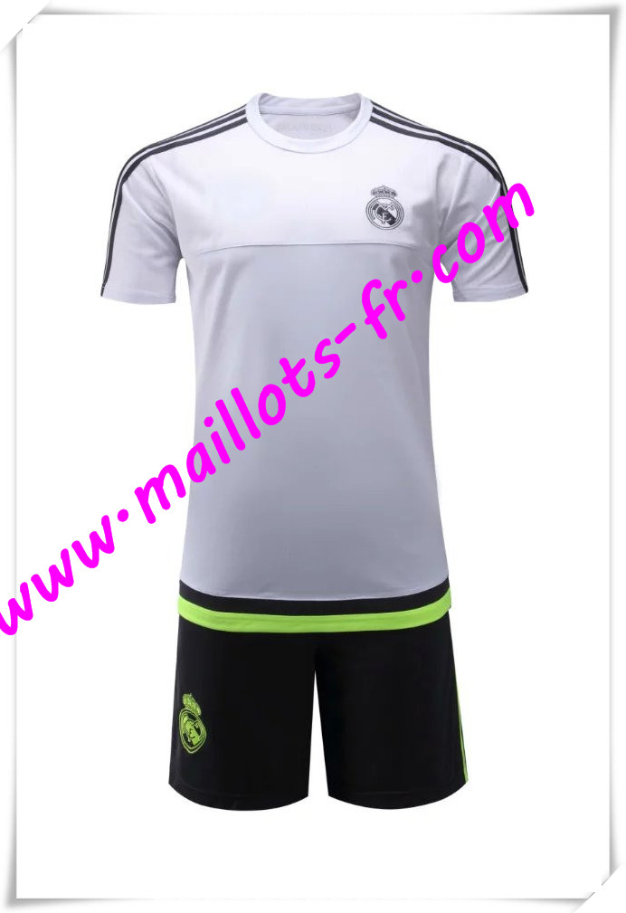maillots-fr Maillot Tee Shirts Real Madrid Blanc 2016 2017 pas cher