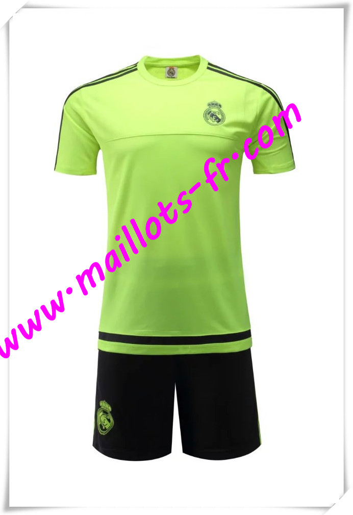 maillots-fr Maillot Tee Shirts Real Madrid Vert 2016 2017 pas cher