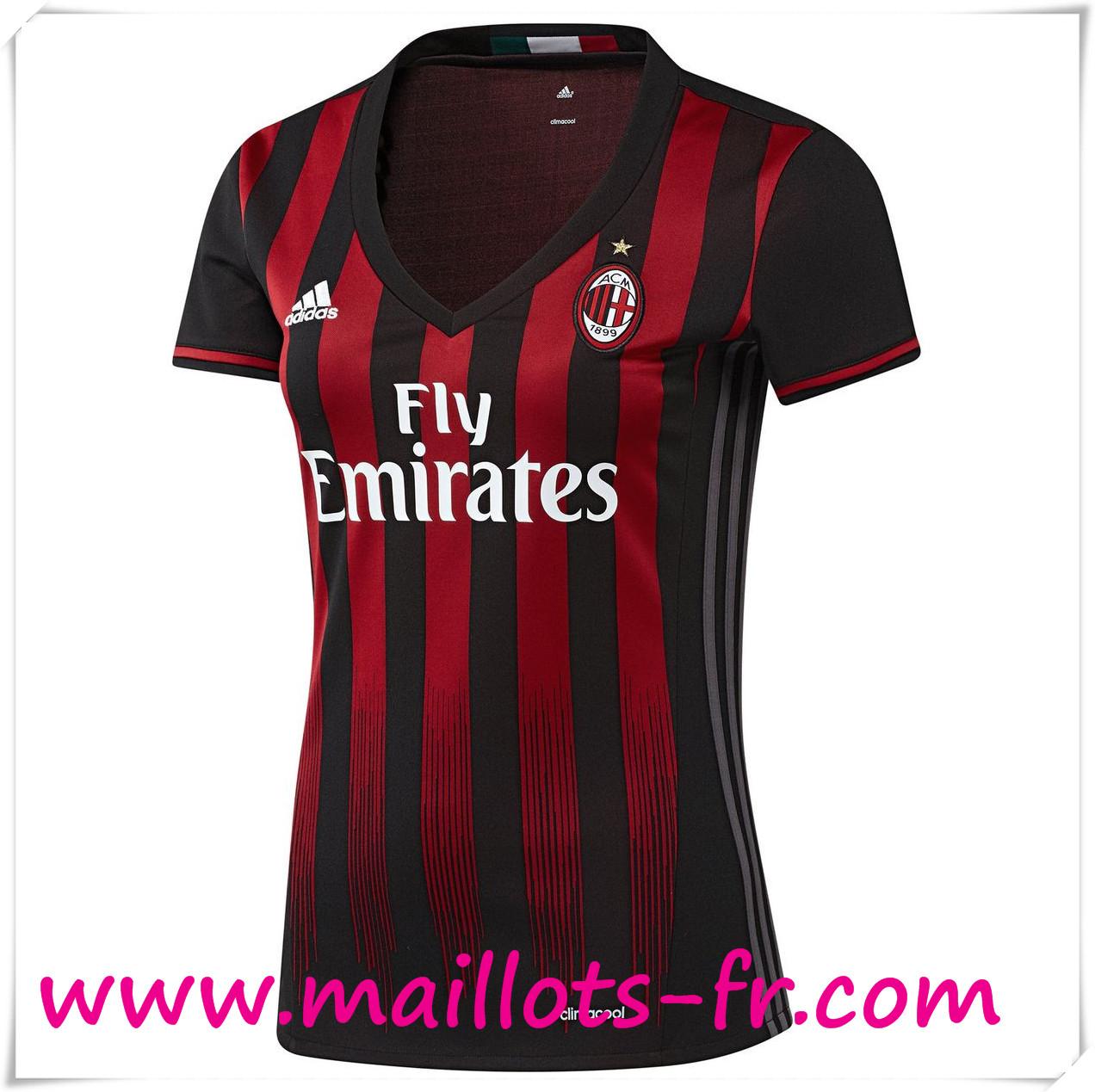 tenue de foot AC Milan Femme