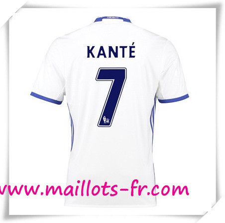 maillots-fr Maillot de Foot FC Chelsea (Kante 7) Third 2016 2017