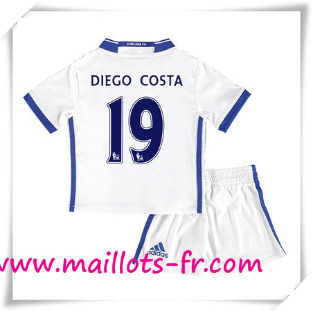 maillots-fr Maillot de Foot FC Chelsea Enfant (DIEGO COSTA 19) Third 2016 2017