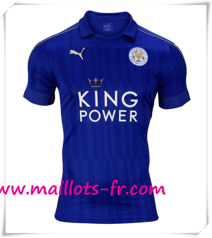 maillots-fr Maillot de Foot Leicester City Domicile 2016 2017