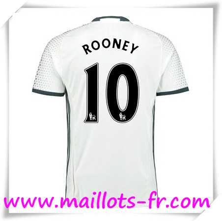 maillots-fr Maillot de Foot Manchester United (ROONEY 10) Third 2016 2017