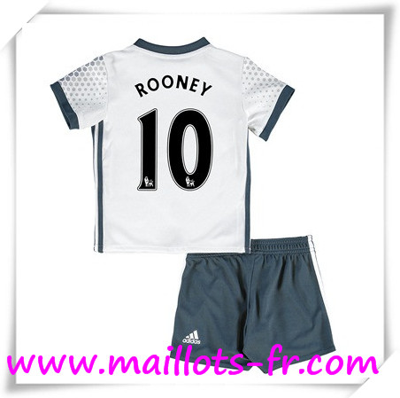 maillots-fr Maillot de Foot Manchester United Enfant (ROONEY 10) Third 2016 2017