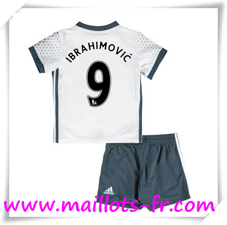 maillots-fr Maillot de Foot Manchester United Enfant (Ibrahimovic 9) Third 2016 2017