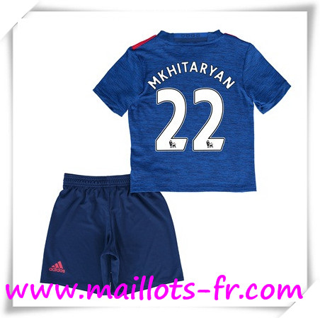 maillots-fr Maillot de Foot Manchester United Enfant (Mkhitaryan 22) Exterieur 2016 2017
