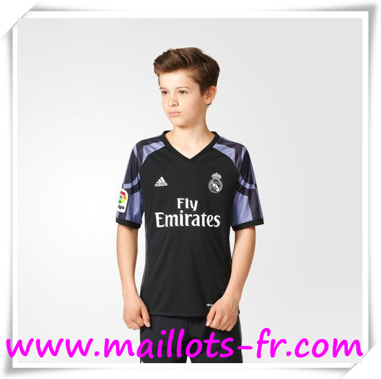 maillots-fr Maillot de Foot Real Madrid Enfant Third 2016 2017