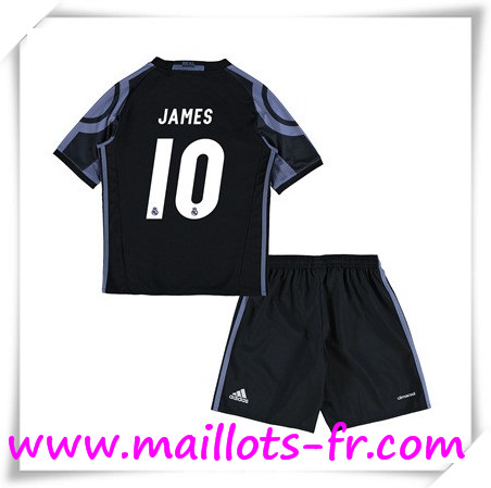 maillots-fr Maillot de Foot Real Madrid Enfant (JAMES 10) Third 2016 2017