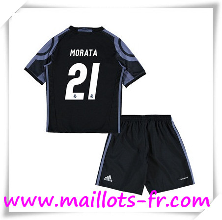 maillots-fr Maillot de Foot Real Madrid Enfant (MORATA 21) Third 2016 2017