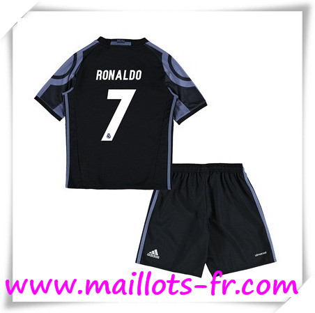 maillots-fr Maillot de Foot Real Madrid Enfant (RONALDO 7) Third 2016 2017