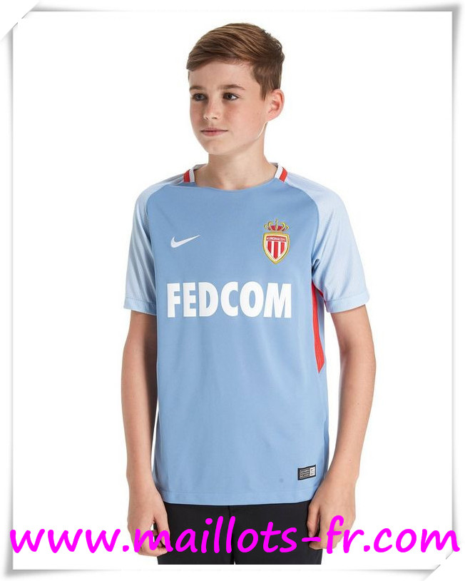 Maillot de Foot AS Monaco Enfant 17/18 Exterieur