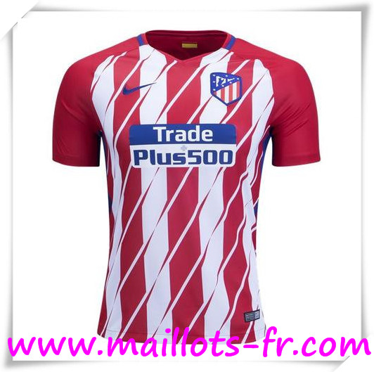 Maillot de Foot Atletico Madrid 17/18 Domicile