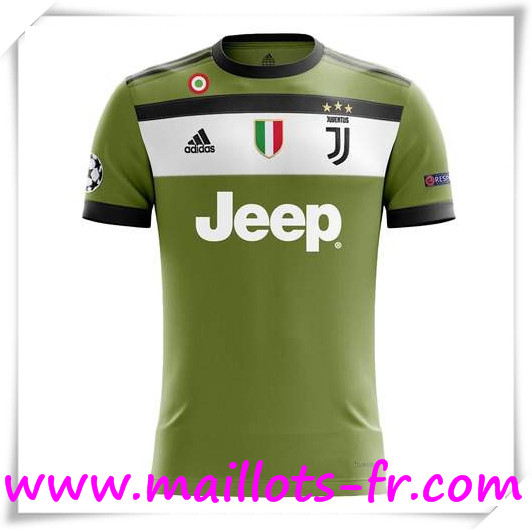 Maillot de Foot Juventus 17/18 Third