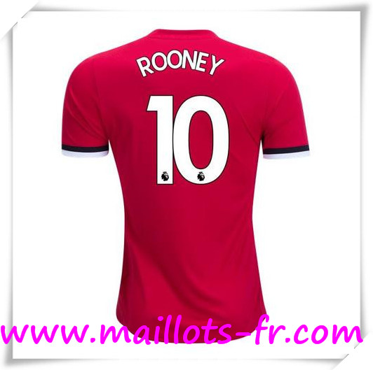 Maillot de Foot Manchester United 17/18 Domicile # ROONEY 10