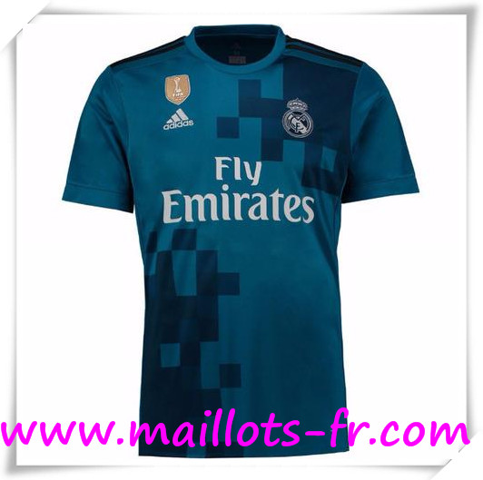 Maillot de Foot Real Madrid 17/18 Third