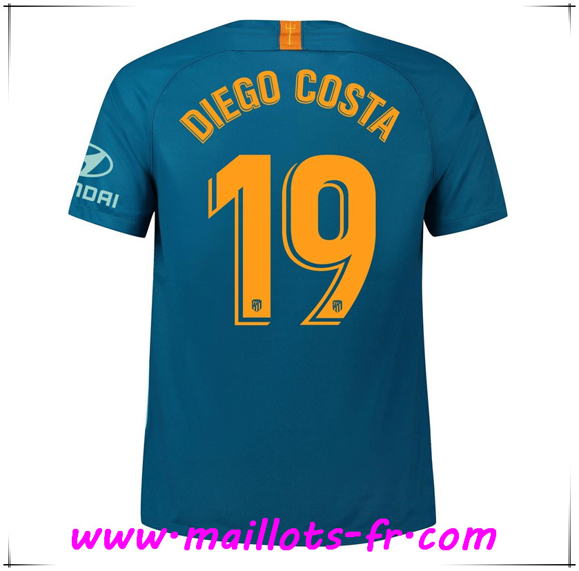 Maillots-fr Maillot de Foot Atletico Madrid (19 DIEGO COSTA) Third 2018/2019