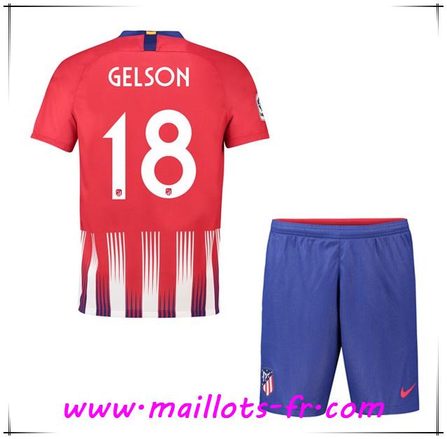 Maillot Domicile Atlético de Madrid Gelson
