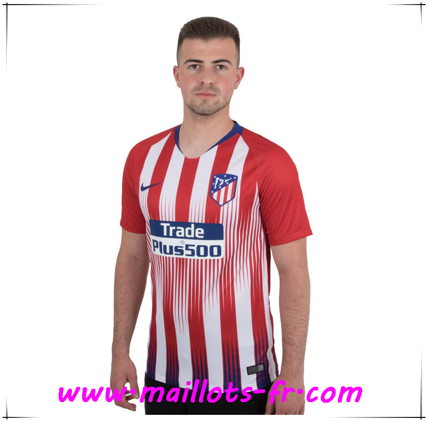 Maillots-fr Maillot Atletico Madrid Domicile 2018-2019
