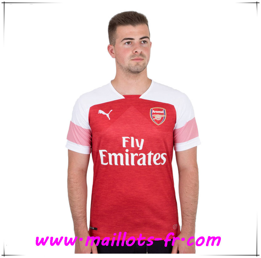 Maillots-fr Maillot Arsenal Domicile 2018-2019